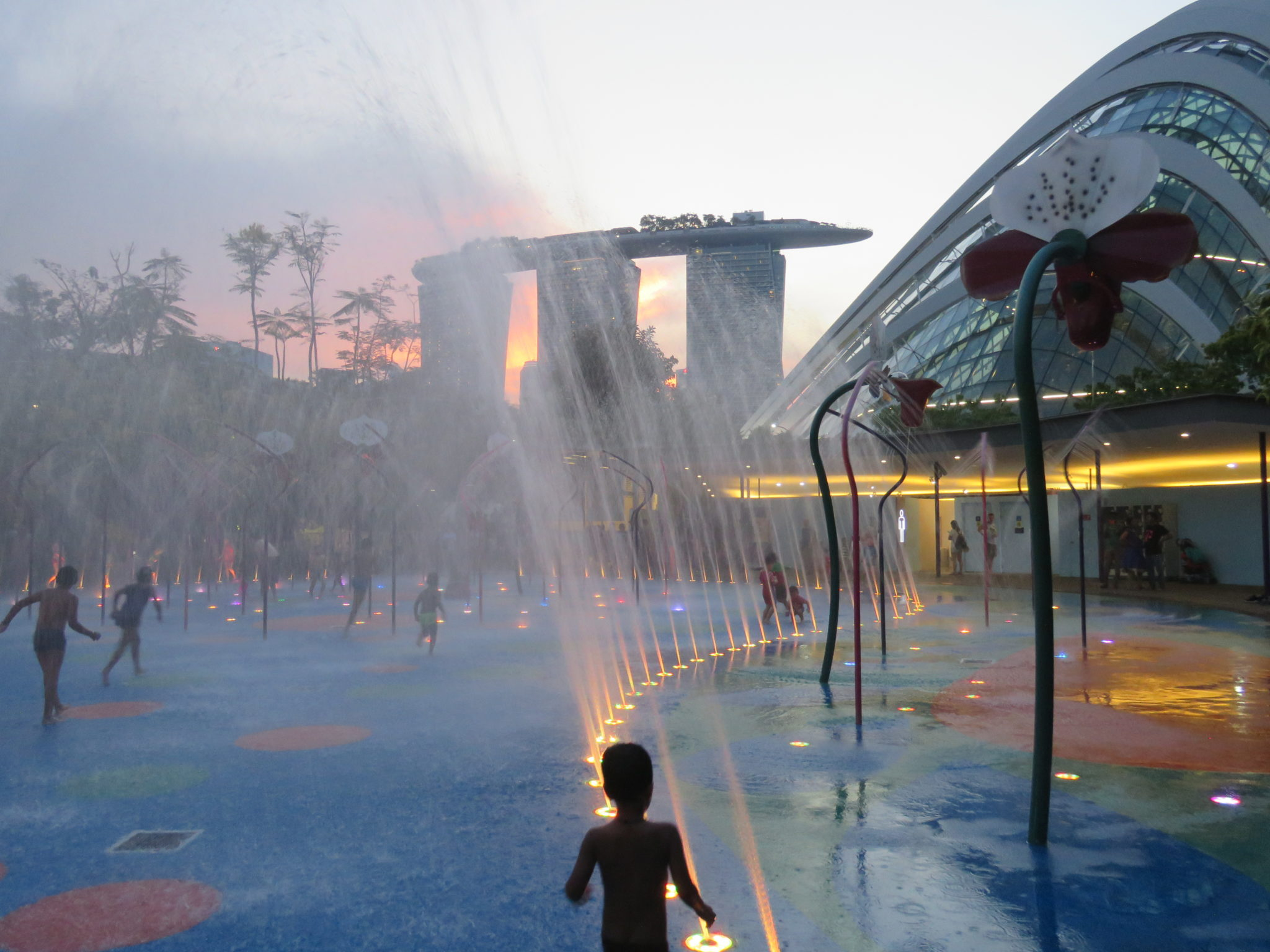 Garden By The Bay Water Park gardensthe bay, singapore - complete guide & review - seven